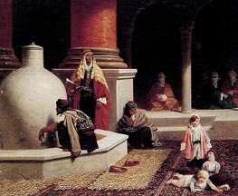 In the Harem, 1873 von Adolphe Yvon | Gemälde-Reproduktion