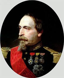 Napoleon III | Adolphe Yvon | Painting Reproduction