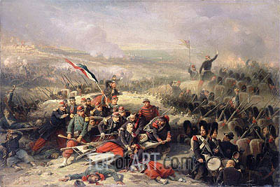 The Taking of Malakoff, 8th September 1855, Undated | Adolphe Yvon | Gemälde Reproduktion