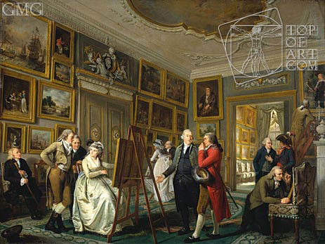 The Art Gallery of Jan Gildemeester, c.1794/95 | Adriaen de Lelie | Painting Reproduction
