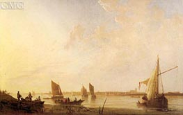 Dordrecht: Sunrise, c.1650 by Aelbert Cuyp | Painting Reproduction