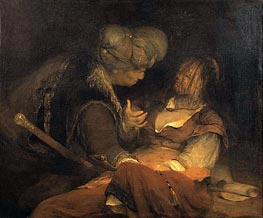 Judah and Tamar, c.1700 by Aert de Gelder | Painting Reproduction