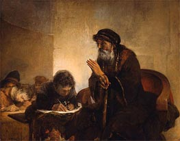 Schoolmaster with his Pupils | Aert de Gelder | Painting Reproduction