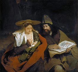 Rest on the Flight into Egypt | Aert de Gelder | Painting Reproduction