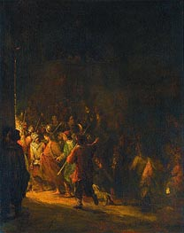 The Arrest of Christ, 1727 by Aert de Gelder | Painting Reproduction