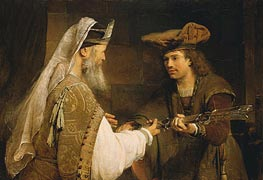 Ahimelech Giving the Sword of Goliath to David | Aert de Gelder | Painting Reproduction