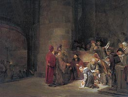 Christ and the Woman taken in Adultery, 1683 by Aert de Gelder | Painting Reproduction