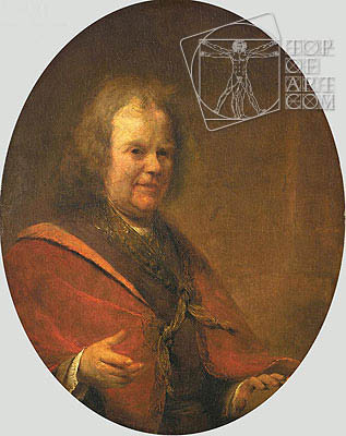Portrait of Herman Boerhaave, 1722 | Aert de Gelder | Painting Reproduction