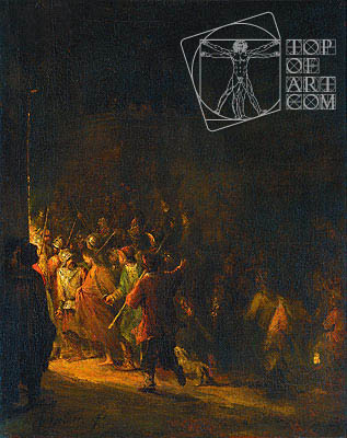 The Arrest of Christ, 1727 | Aert de Gelder | Painting Reproduction
