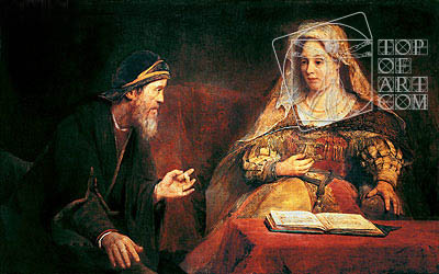 Esther and Mordechai, 1685 | Aert de Gelder | Painting Reproduction