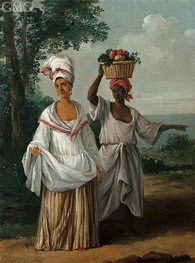 Two Caribbean Women Returning from the Market | Agostino Brunias | Painting Reproduction