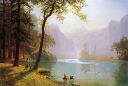 Kern River Valley California | Bierstadt | Gemälde Reproduktion