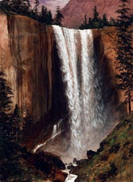 Yosemite Falls | Bierstadt | Painting Reproduction