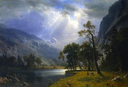 Yosemite Valley | Bierstadt | Painting Reproduction