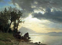 Lake Tahoe, California | Bierstadt | Painting Reproduction
