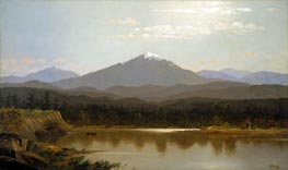 Laramie Peak | Bierstadt | Painting Reproduction