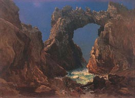 Farallon Islands, 1872 by Bierstadt | Painting Reproduction