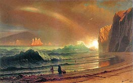 The Golden Gate | Bierstadt | Painting Reproduction