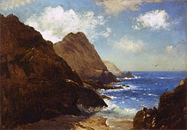 Farallon Islands, undated by Bierstadt | Painting Reproduction