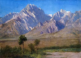 Camp Independence, Colorado | Bierstadt | Painting Reproduction