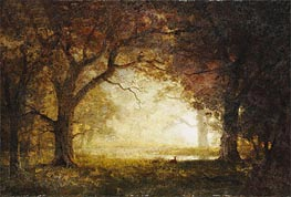 Forest Sunrise | Bierstadt | Painting Reproduction