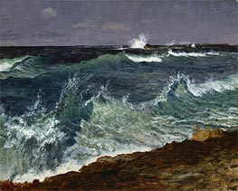 Seascape | Bierstadt | Painting Reproduction