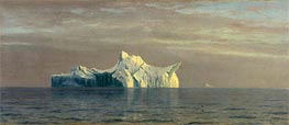 Iceberg, 1884 by Bierstadt | Painting Reproduction
