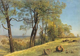 Rockland County, California, c.1872 by Bierstadt | Painting Reproduction