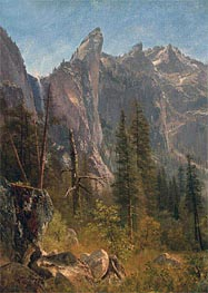 Lost Arrow, Yosemite Valley, undated by Bierstadt | Painting Reproduction