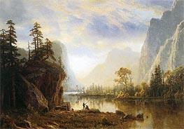 Yosemite Valley, 1863 von Bierstadt | Gemälde-Reproduktion