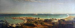 Bombardment of Fort Sumter | Bierstadt | Painting Reproduction