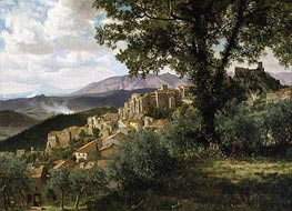 Olevano | Bierstadt | Painting Reproduction