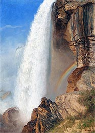 Niagara Falls, undated by Bierstadt | Painting Reproduction