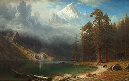 Mount Corcoran, c.1876/77 by Bierstadt | Painting Reproduction