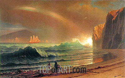 The Golden Gate, 1900 | Bierstadt | Painting Reproduction