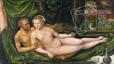 Lot and His Daughters, 1537   Albrecht Altdorfer   Painting Reproduction
