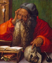 Saint Jerome, 1521 by Durer | Painting Reproduction