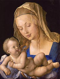 Virgin and Child with Half a Pear | Durer | Painting Reproduction