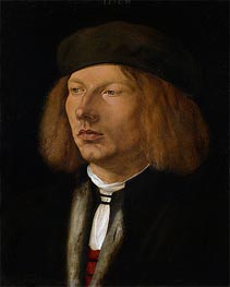 Portrait of Burkard von Speyer, 1506 by Durer | Painting Reproduction