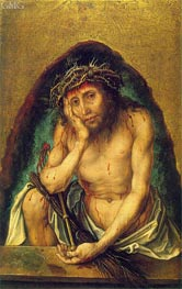 Christ as the Man of Sorrows, c.1493 by Durer | Painting Reproduction