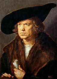 Portrait of an Unknown Man | Durer | Gemälde Reproduktion