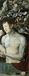 Saint Sebastian (Dresden Altarpiece - Right Panel), 1496 by Durer | Painting Reproduction