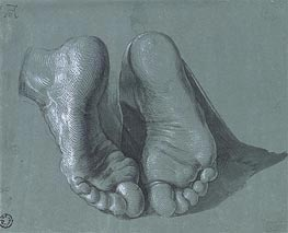 Study of Two Feet | Durer | Painting Reproduction