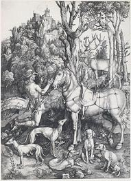 Saint Eustace | Durer | Painting Reproduction