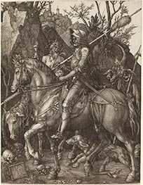 Knight, Death and Devil | Durer | Painting Reproduction