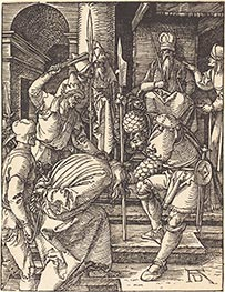 Christ before Annas, c.1509/10 by Durer | Painting Reproduction