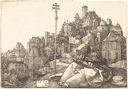Saint Anthony Reading | Durer | Painting Reproduction