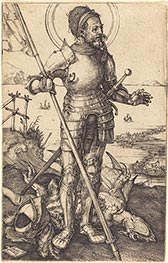 Saint George Standing | Durer | Painting Reproduction