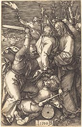 The Betrayal of Christ | Durer | Painting Reproduction