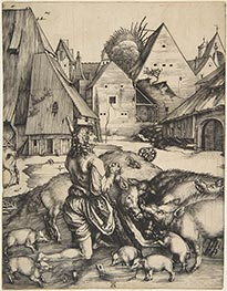 The Prodigal Son | Durer | Painting Reproduction